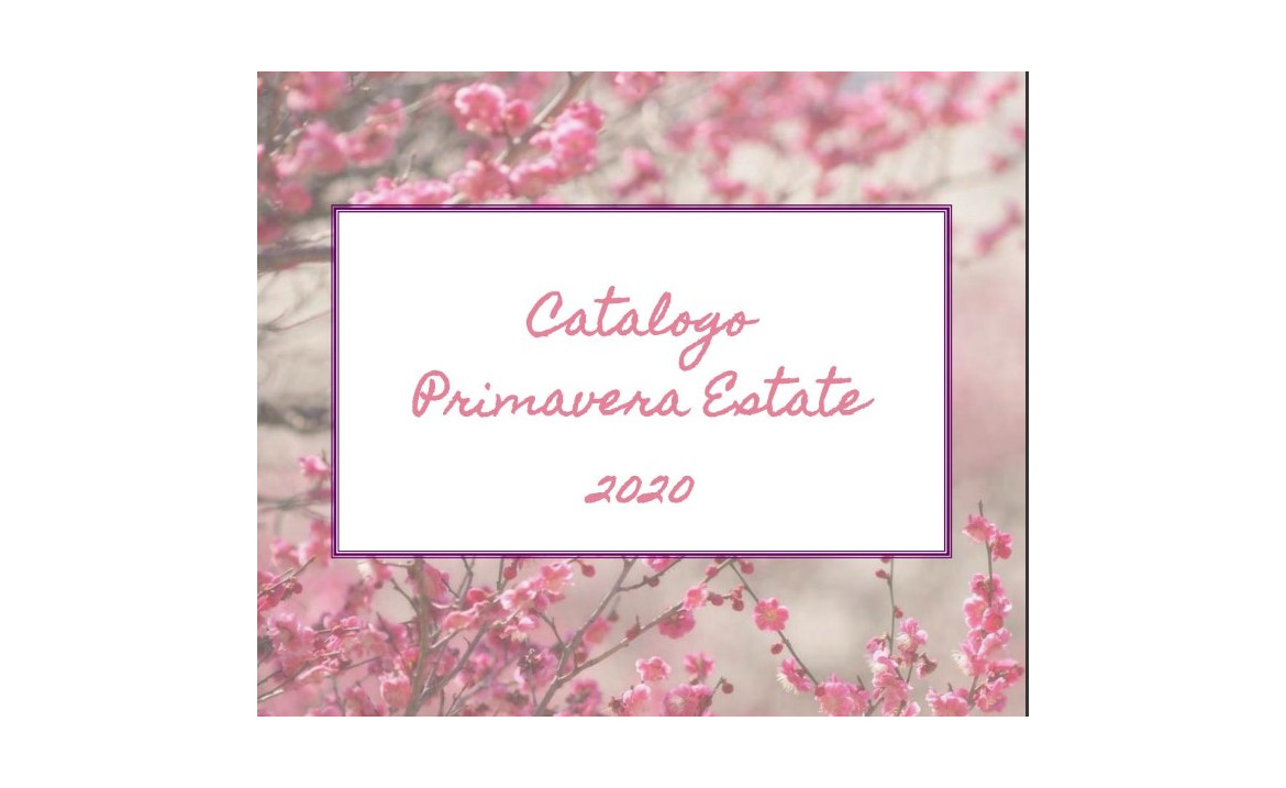 Catalogo primavera estate 2020